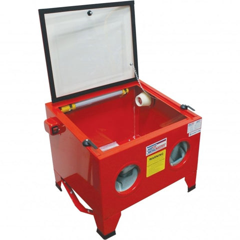 SB-100 - Sandblasting Cabinet Recommended to be used with dust collector