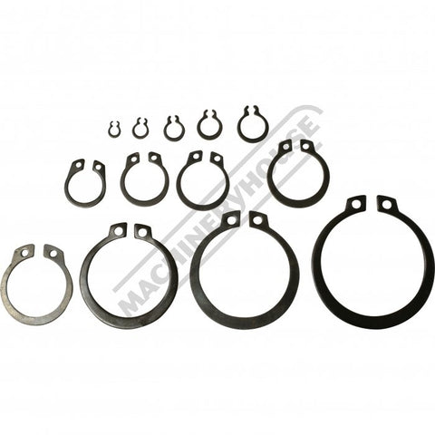 K74378 - Metric External Snap Ring Assortment 300 Piece