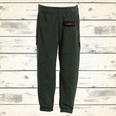 Kids Rookie Fleece Pants - Olive