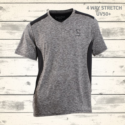Matai Mens Tee - Granite