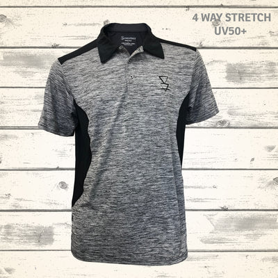 Matai Mens Polo - Granite