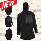 Mokau Fleece Jacket- Black - NEW!