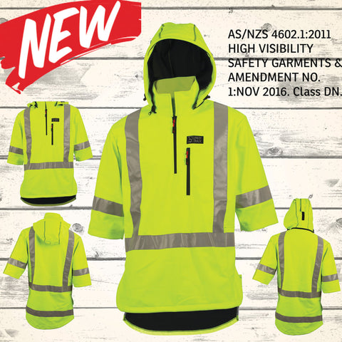 Wilder Mahi Top - HI VIS YELLOW (Reflective) - AS/ NZS Approved - NEW!