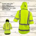 Wilder Mahi Top - HI VIS YELLOW (Reflective) - AS/ NZS Approved