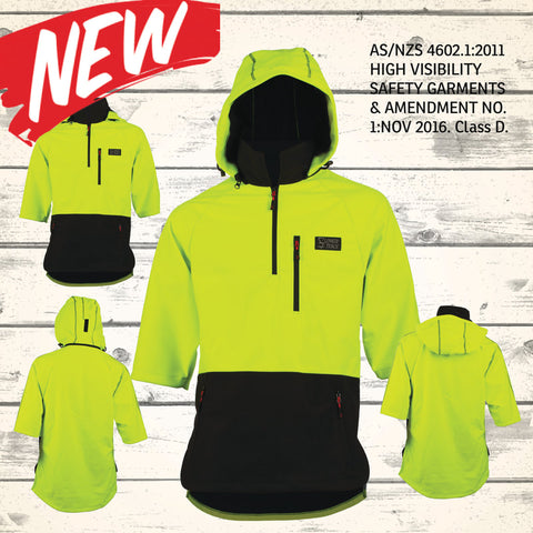 Wilder Tradie Top - HI VIZ Yellow (Non-Reflective) - NEW!