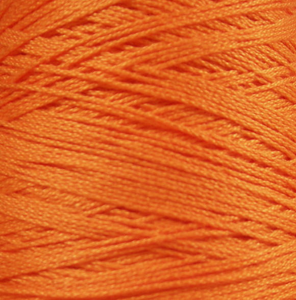 Bomullsgarn 12/6 orange