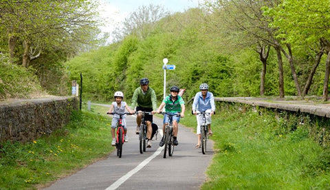 Bristol to Bath cycling route