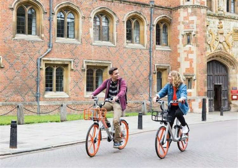 Cambridge cycling route