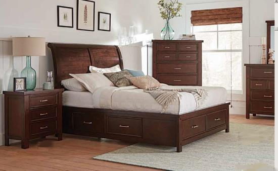 BEDROOM - MASTER BEDROOM COLLECTIONS 206430KW-S5 5PC CA KING BED SET