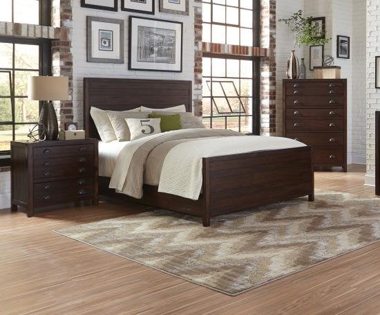 BEDROOM - BEDROOM SETS 204291KE-S5S 5 PC SET