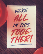"DREEEM ""We're All In This Together!"" Poster"