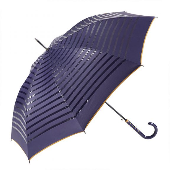 2 TONE STRIPED DOUBLE SIDED UMBRELLA