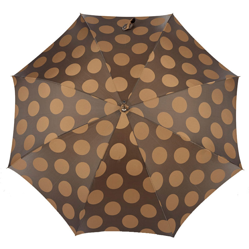 HANDMADE JAVA BAMBOO ROOT HANDLE UMBRELLA