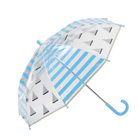 SAILING BOATS KIDS CLEAR UMBRELLA
