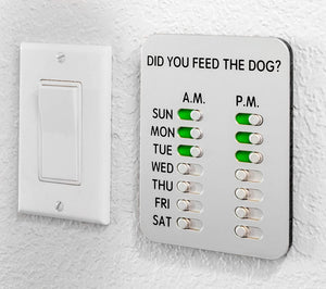 Did You Feed the Dog? - Reminder Feeder Slider