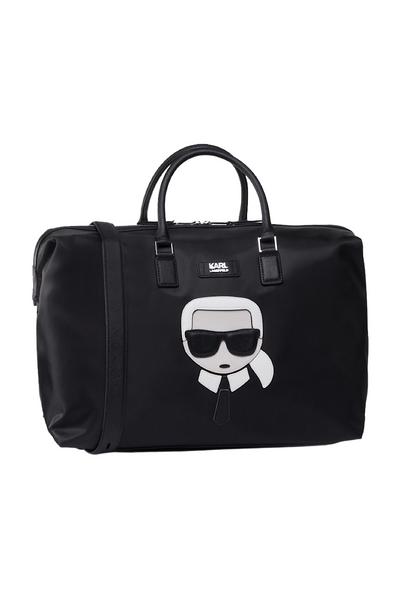 KARL LAGERFELD IKONIK TRAVEL BAG ΜΑΥΡΟ 805911 Edit alt text  Edit alt text