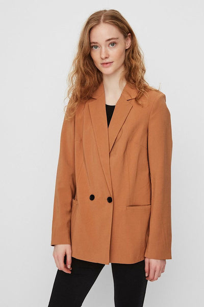 VERO MODA FITTED ΣΑΚΑΚΙ ΚΑΦΕ 10225726 blazer brown