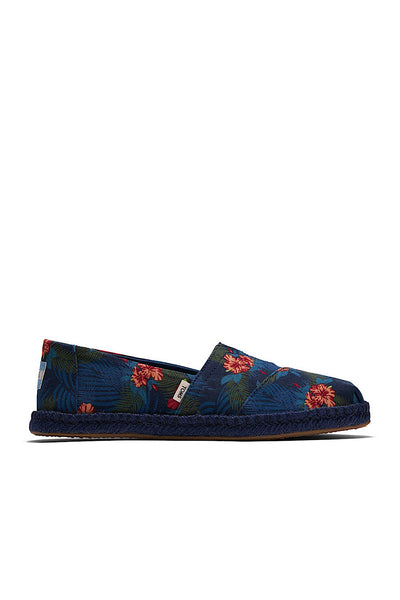 10015050 TOMS ALPAGRATA TROPICAL μπλε navy