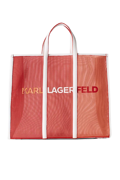 KARL LAGERFELD ESSENTIAL LARGE TOTE BAG ΤΣΑΝΤΑ 211W3909 ΠΟΡΤΟΚΑΛΙ