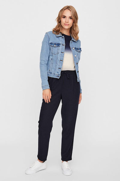 VERO MODA Κοντό Light Blue Denim Jacket 10193085