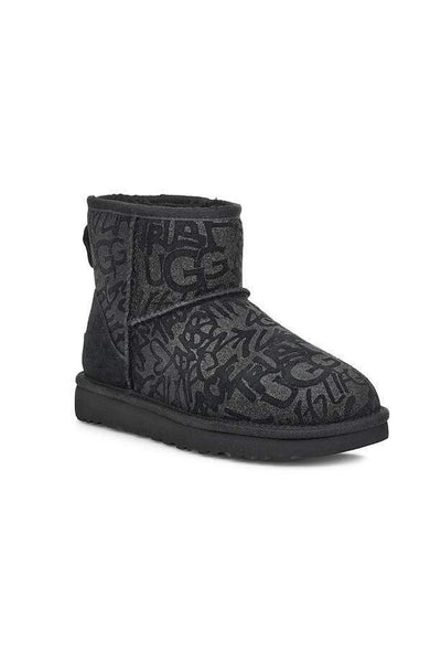 UGG CLASSIC MINI SPARKLE GRAFFITI ΜΠΟΤΑΚΙΑ FW1920