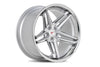 Machine Silver / Chrome Lip C.B. 66.56 / 5x112 / ET40