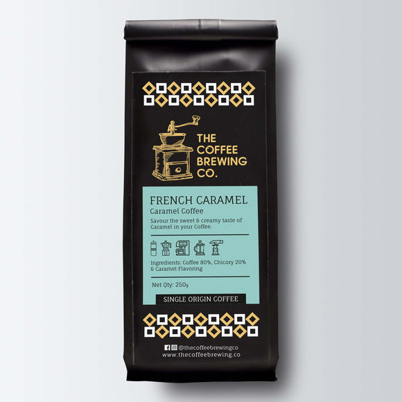 French Caramel - Caramel Coffee Powder