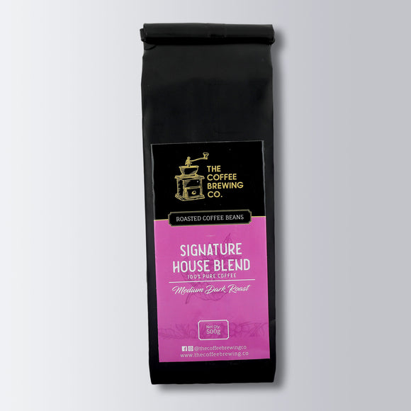 Roasted Coffee Beans - Signature House Blend