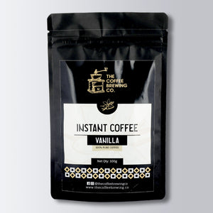 Vanilla Flavoured Instant Coffee - 100% Pure Coffee