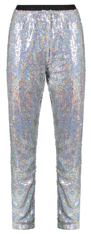 Disco Ball Holographic Joggers