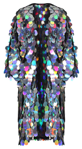 Diamond Drop Holographic Mini Skirt
