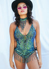 QUEEN OF ATLANTIS SEQUIN BODYSUIT