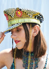 DIAMANTE RINGMASTER CAPTAIN'S HAT