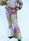 CYBER SUNRISE HOLOGRAPHIC SEQUIN FLARES