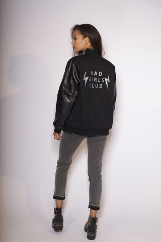 Bad Girls Club Supersized Varsity Bomber