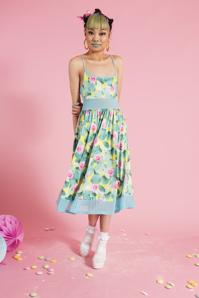Lily Pad Queen Slip Dress
