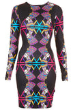 Nefertiti Bodycon Midi Dress