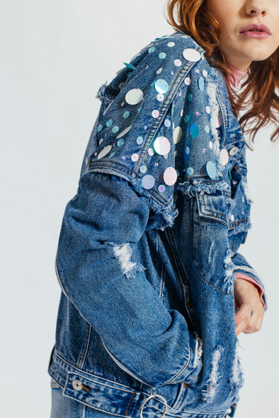 THE Mermaid Denim Jacket