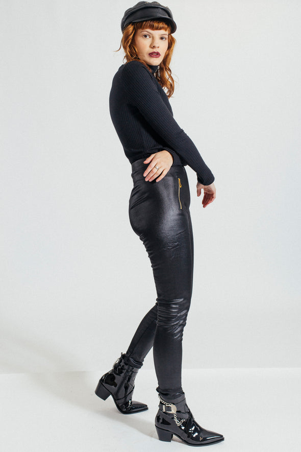 Pretty Woman Faux Leather Trousers