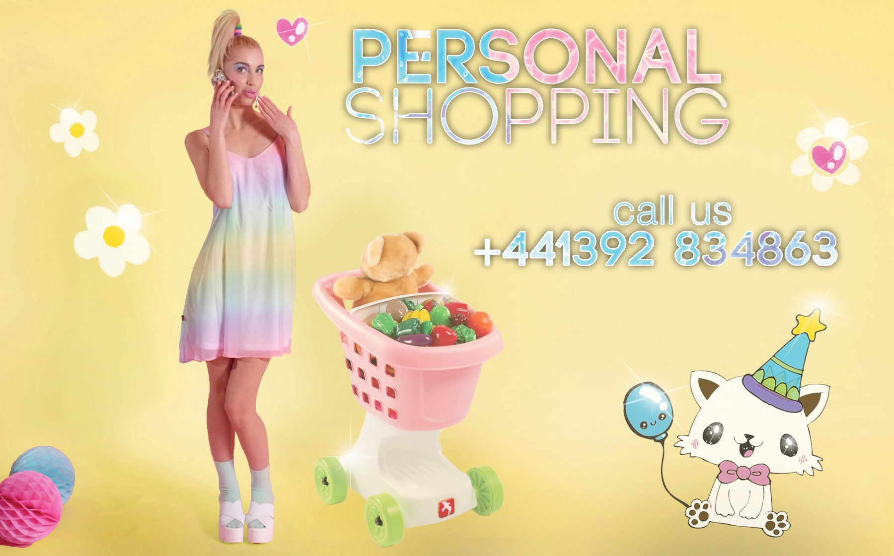 Personal Shopping! Call us now.
