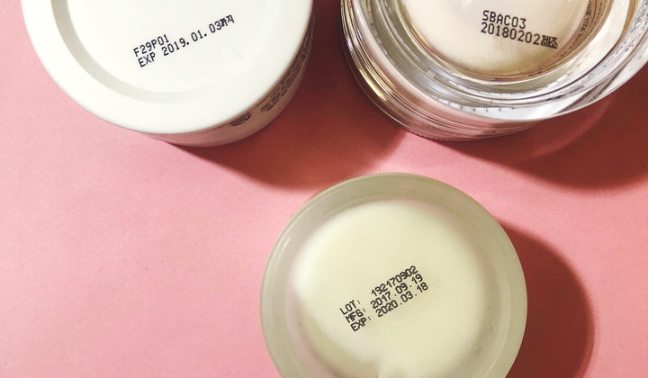 HOW DO YOU KNOW WHEN YOUR SKINCARE HAS EXPIRED?
