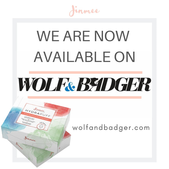 WE ARE NOW AVAILABLE ON WOLF & BADGER!