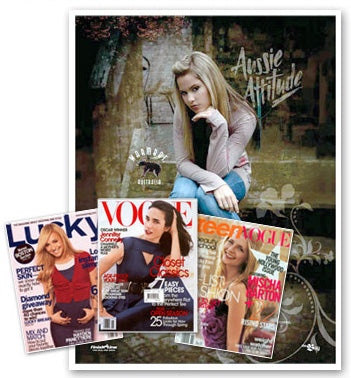 Our sheepskin boots have been seen in some of the worlds leading fashion magazines