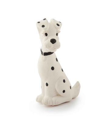 The Oli & Carol Spot the Dog Rubber Toy is biodegradable, eco-friendly, BPA, PVC, Phthalate, and Nitrosamines free. Have NO valves for mold free play. Sold online at The Eco Baby Co™