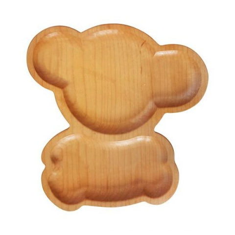 The TimberChild™ Koala Children's Wooden Plate is a safer & healthier, nontoxic alternative to the regular plastic plates made for kids today. Sold in the USA at The Eco Baby Co™.