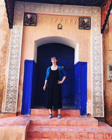 Grace Sourcing in Tameslouht, Morocco