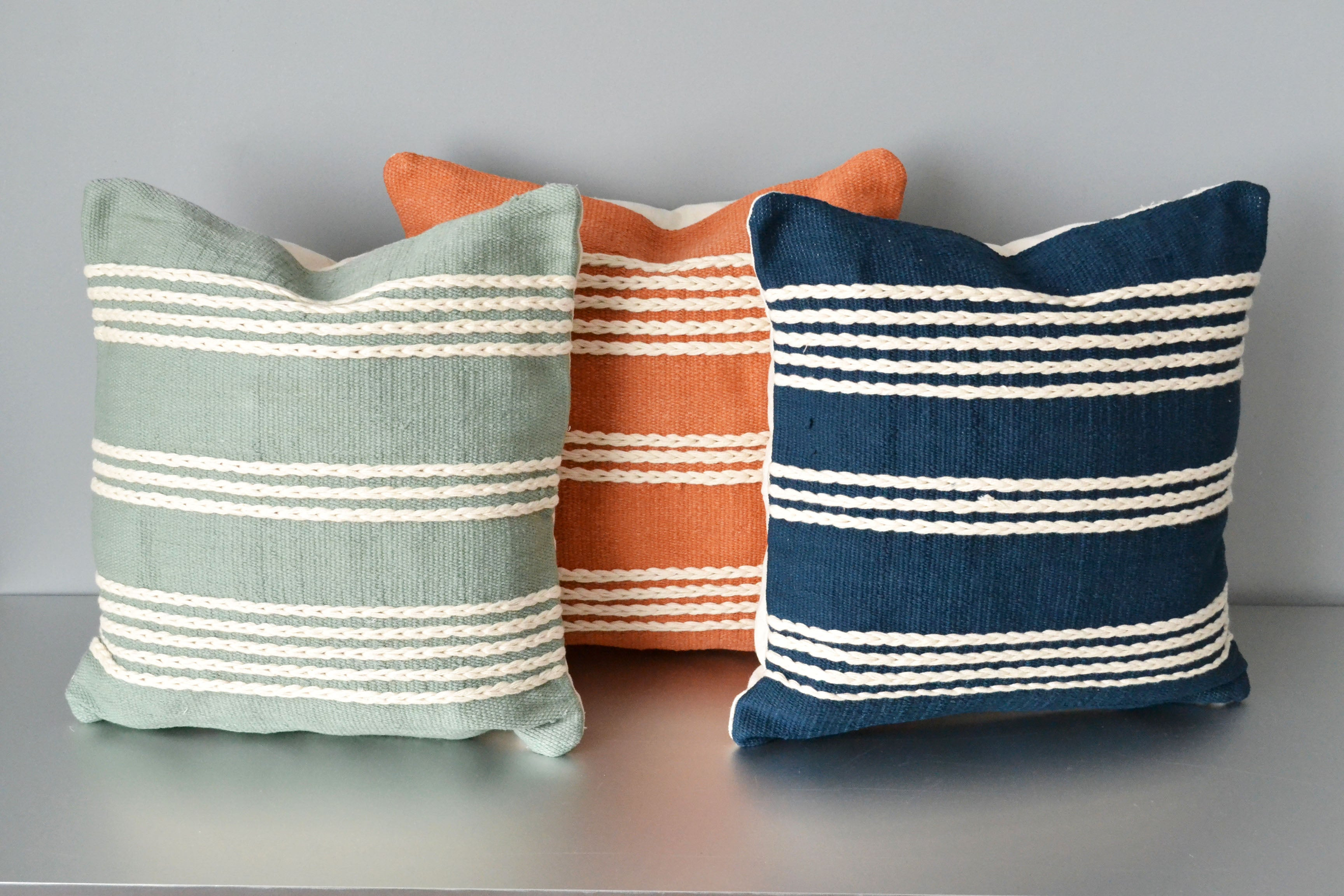 Meadows Cotton Pillow Covers by Yuba Mercantile