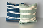 Blue and Green Meadow Pillows by Yuba Mercantile