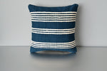 Blue Meadow Cotton Throw Pillow by Yuba Mercantile