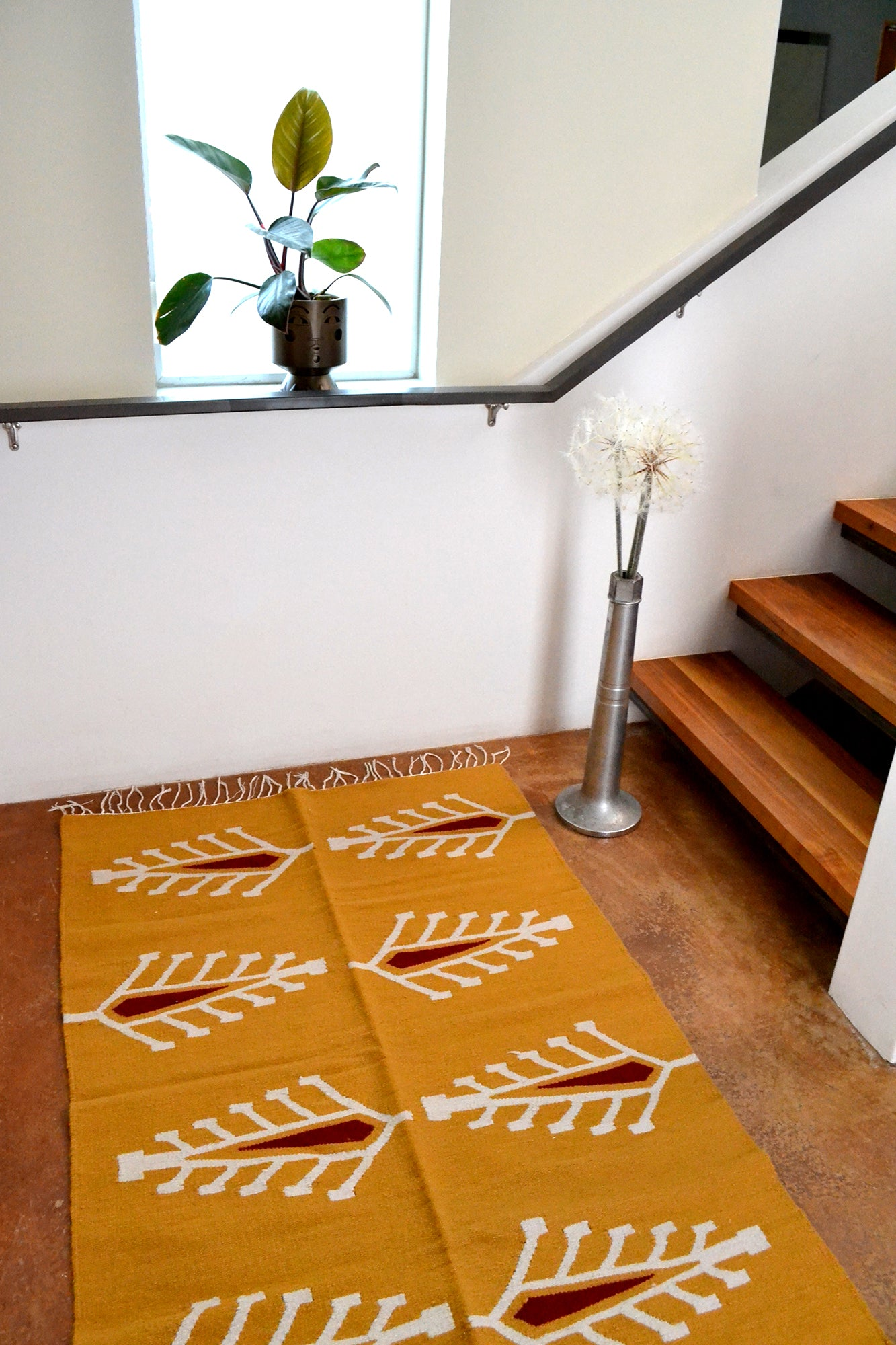 Cyprus Kilim Rug from Egypt by Yuba Mercantile